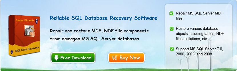 Reliable SQL Database Recovery Software